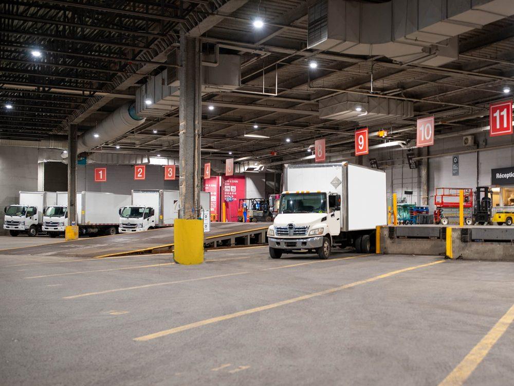 Manutention Palais des congrès Montréal