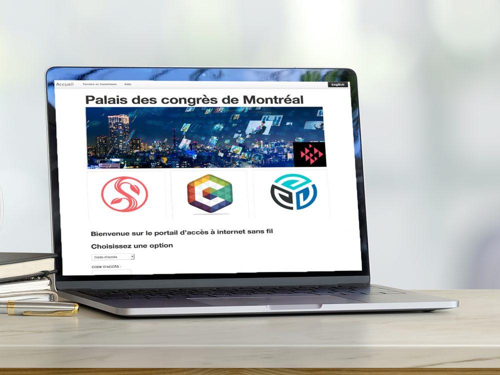 Wifi Palais des congrès Montréal