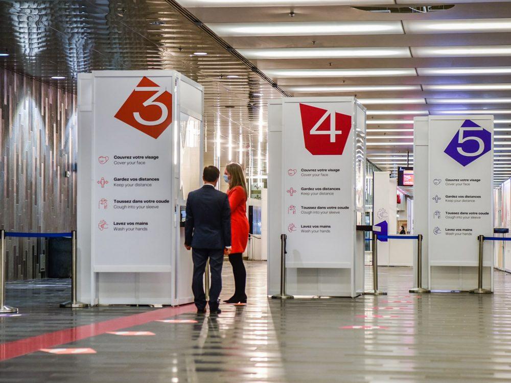 Service passe Palais des congrès Montréal