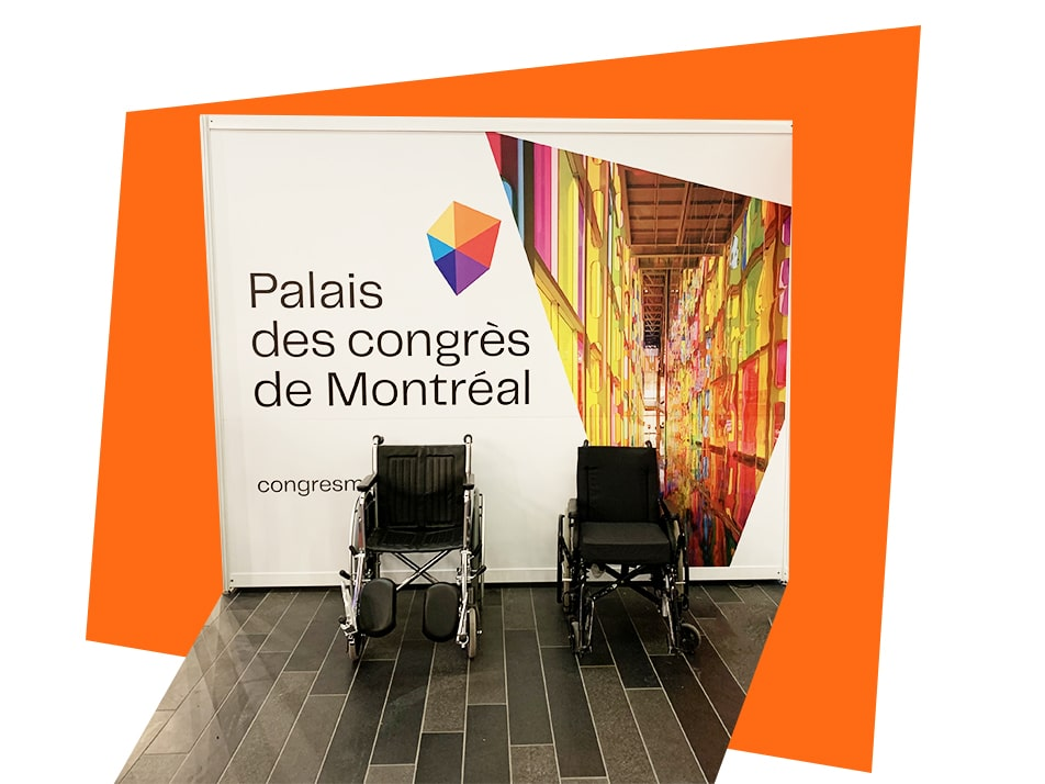 Accessibilité Palais des congrès Montréal