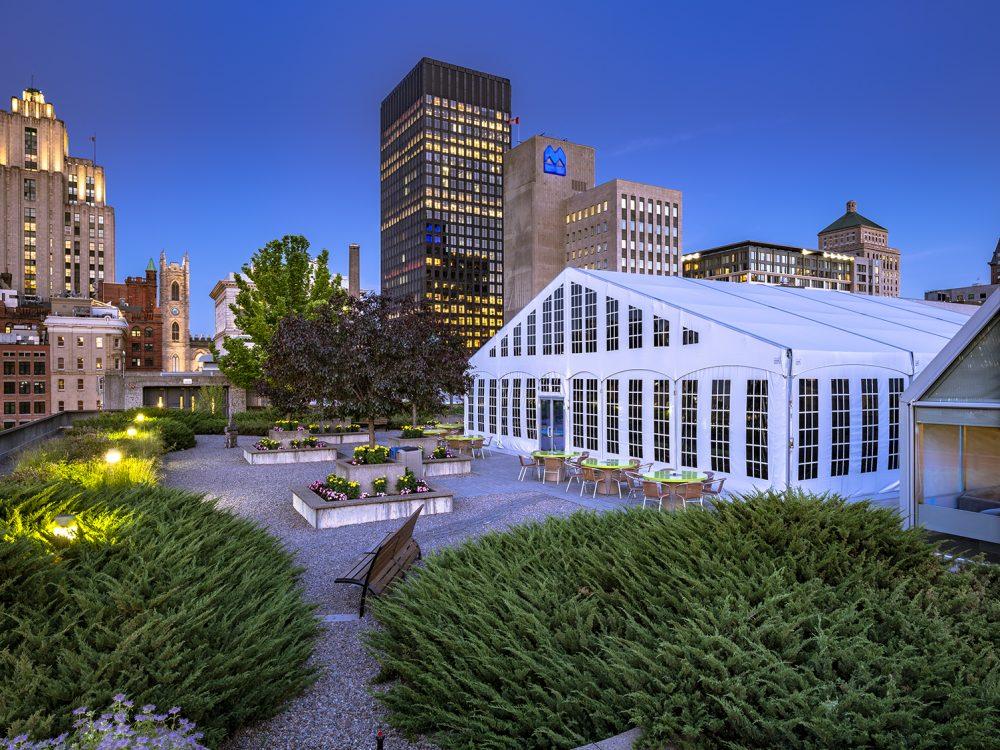 Toit Palais des congrès Montréal