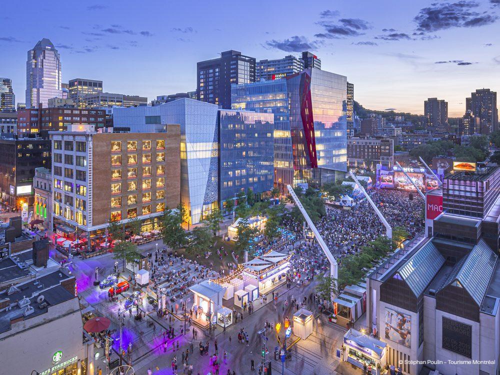 Quartier des affaires Montréal