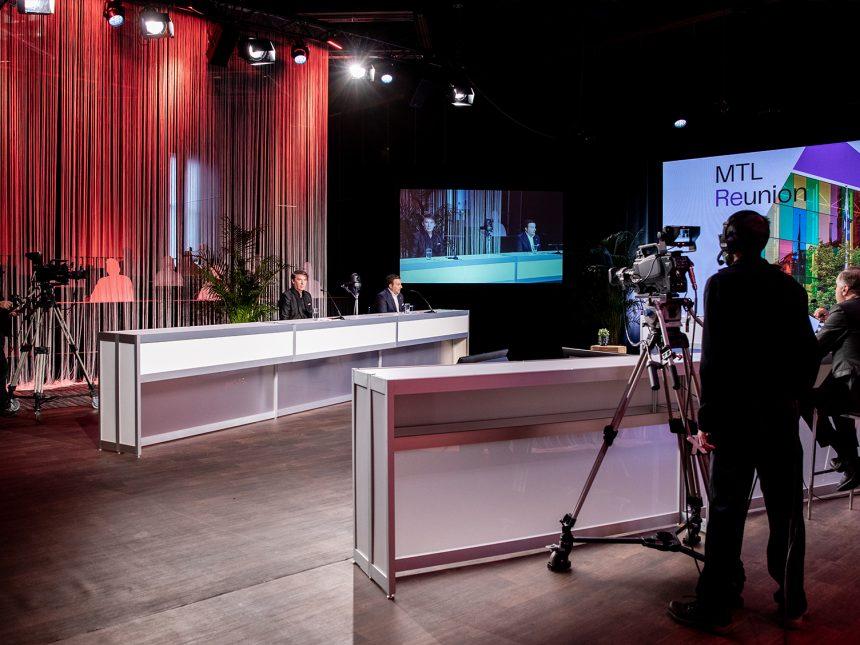 Tournage Palais des congrès Montréal Studio 710