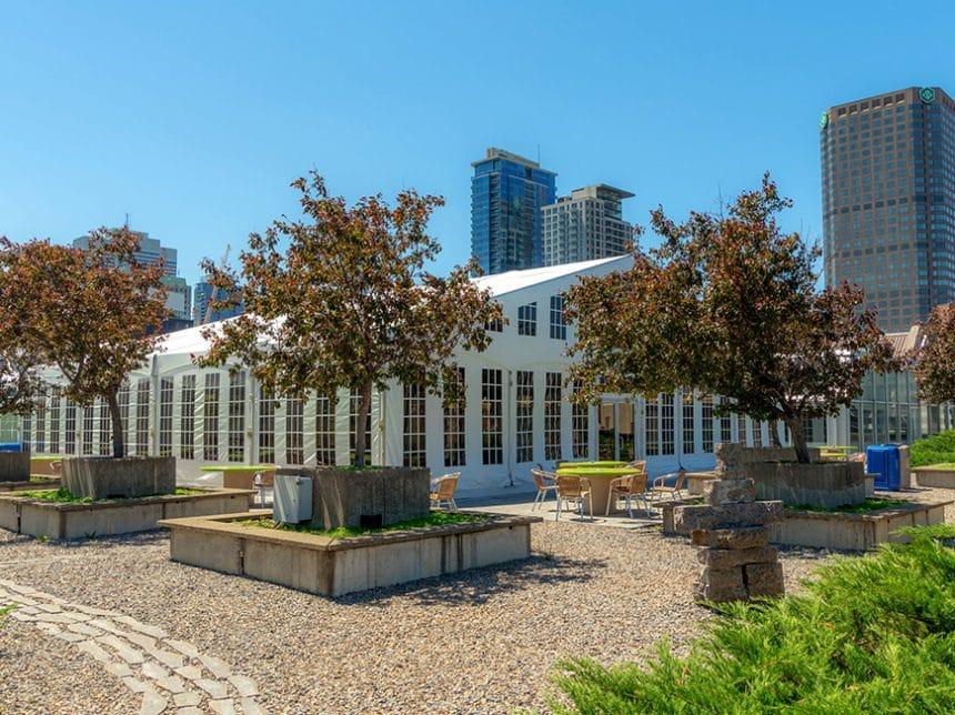 Toit terrasse Palais des congrès Montréal