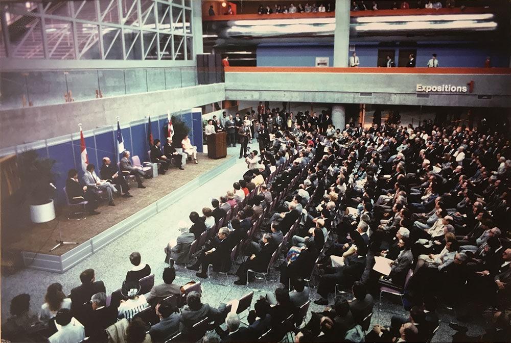 Congrès Palais des congrès Montréal 1983