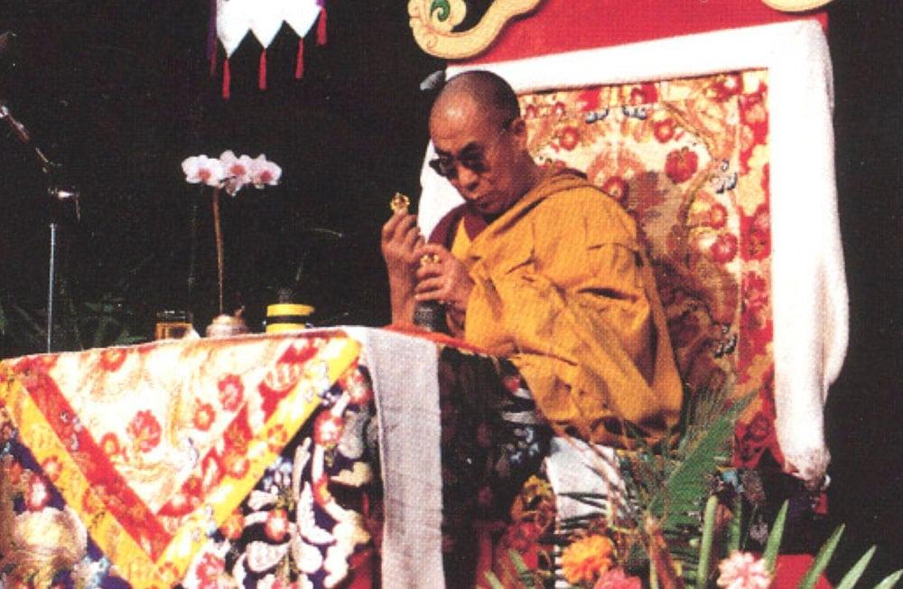 Dalaï-lama 1993 Palais des congrès Montréal