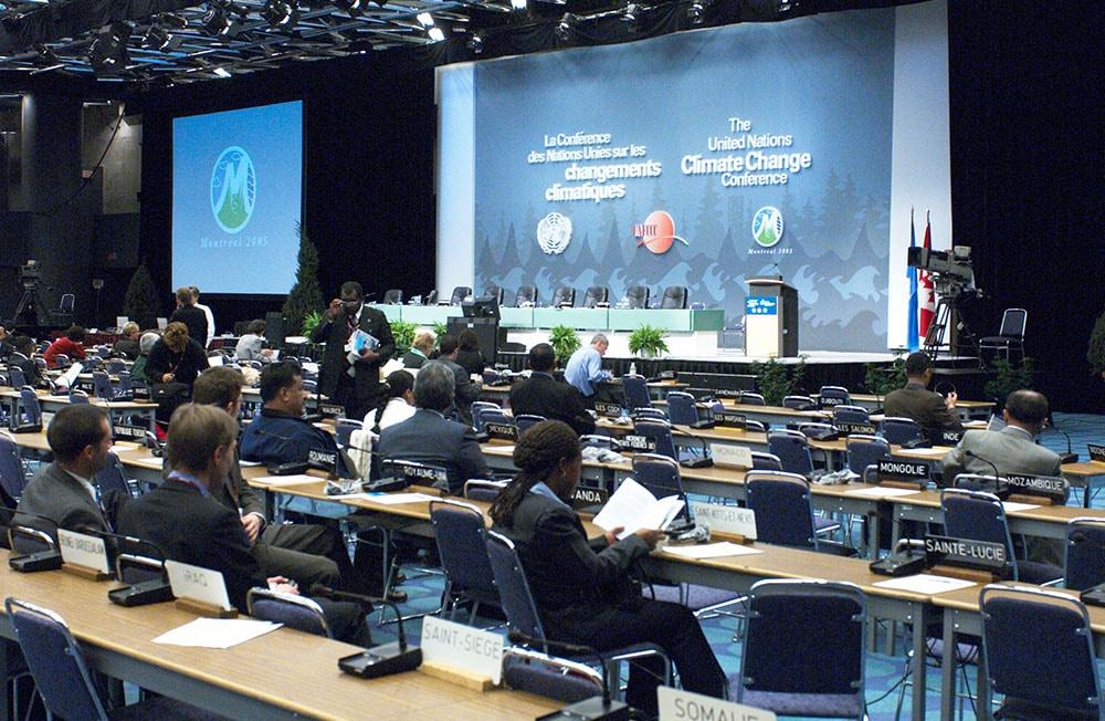 La conférence des Nations Unies sur les changements climatiques 2005 Palais des congrès