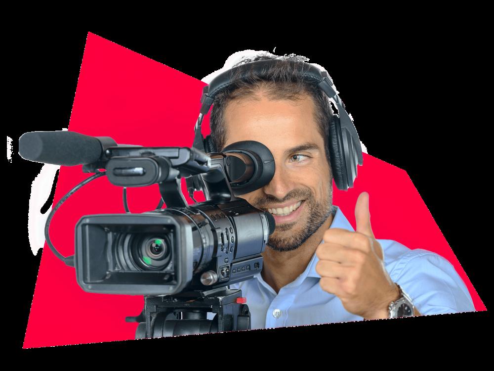 Tournage cameraman Palais des congrès Montréal