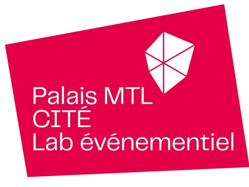 Logo Palais MTL CITÉ Lab événementiel