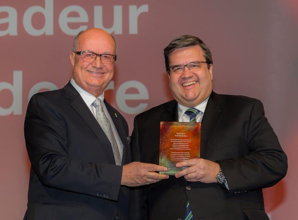Denis Coderre intronisé à titre de Grand Ambassadeur et des leaders confirment des congrès internationaux d'envergure à Montréal