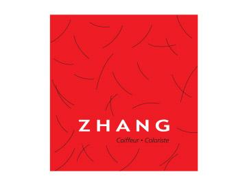 Logo coiffeur-coiffeuse Zhang