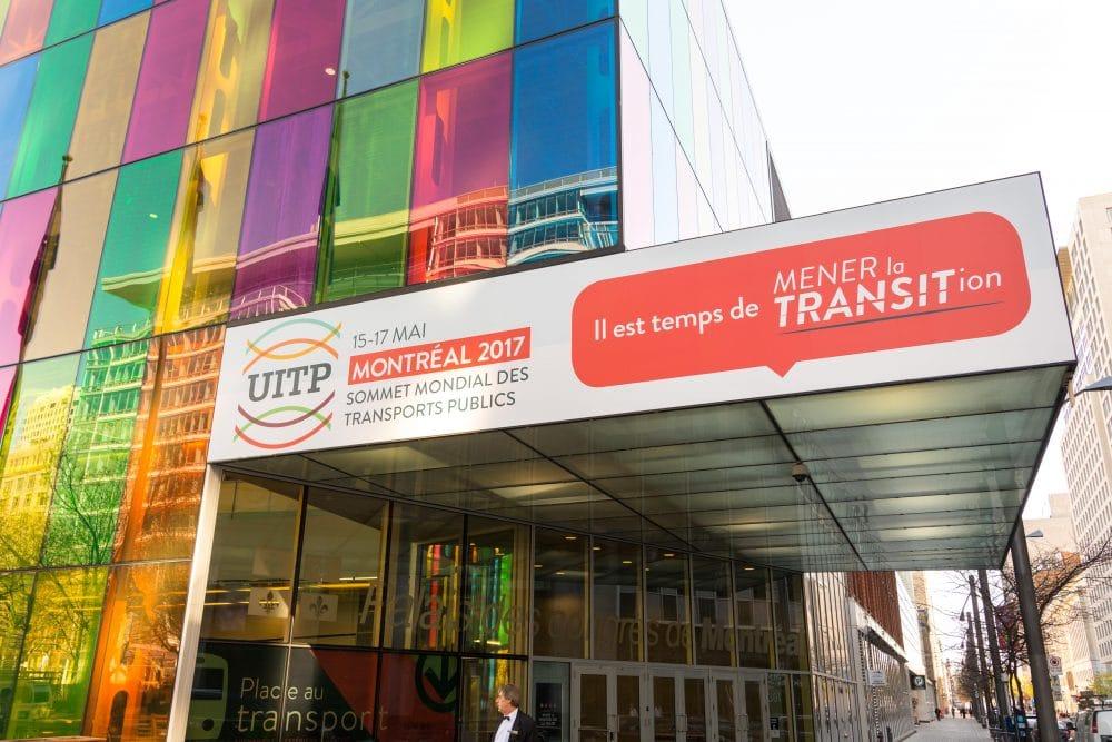 Affichage marquise Palais des congrès Montréal