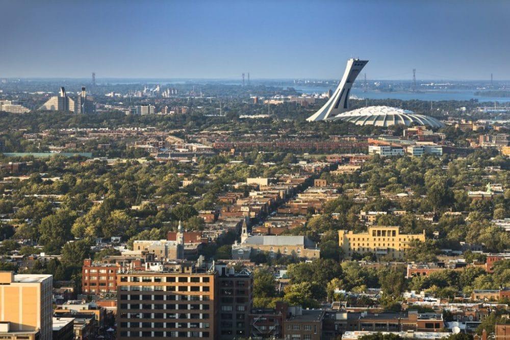Stade olympique Palais des congrès Montréal